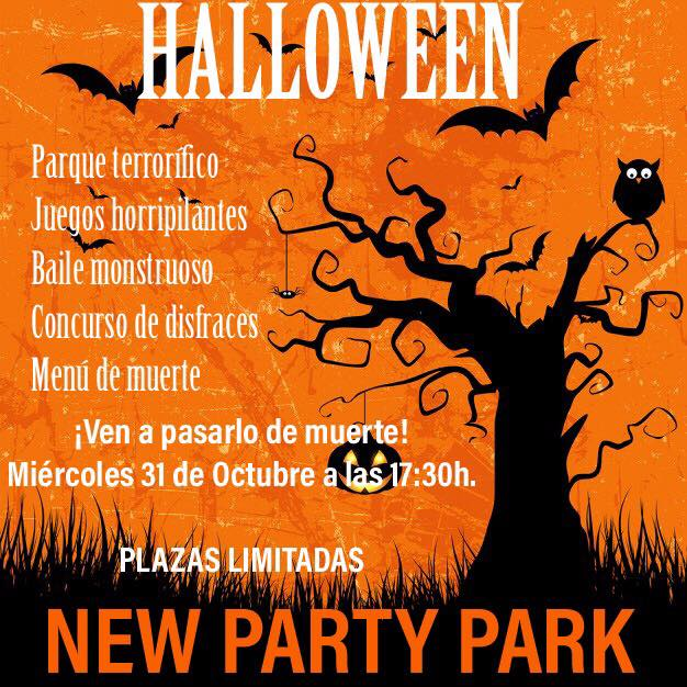 Halloween en New Party Park de Dos Hermanas