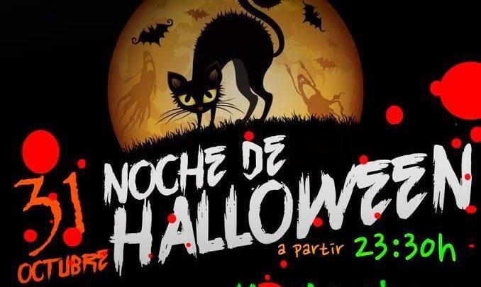 Noche de Halloween en Cachaza Café en Calle Calígula en Montequinto