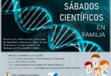 Sábados científicos en familia en la Concejalía de Educación