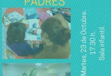 """Taller para padres """"A la biblioteca en familia"""" en la Biblioteca Pública de Dos Hermanas"""