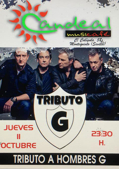 Tributo a los Hombres G en Candeal Musicafe