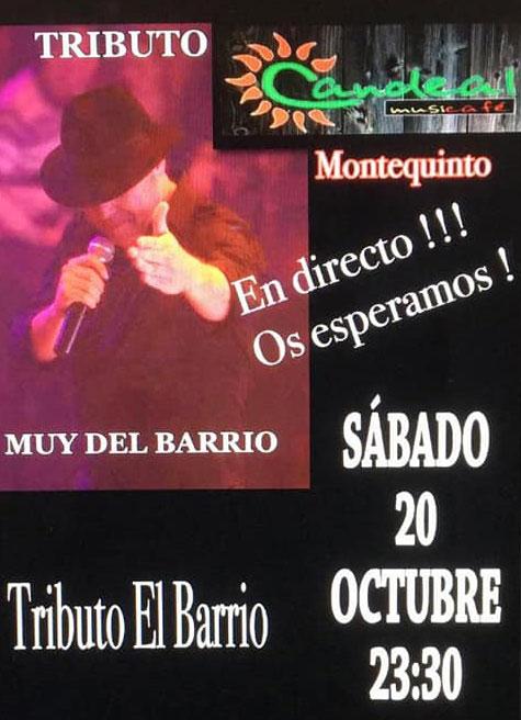 Tributo a El Barrio en Candeal Café en Montequinto