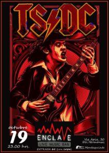 TS/DC tributo a AC/DC en Sala Enclave Montequinto