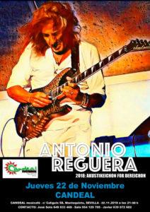 Antonio Reguera y Agustina en Sala Candeal Musicafe