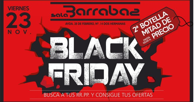 Photo of Black Friday y promociones en Sala Barrabás