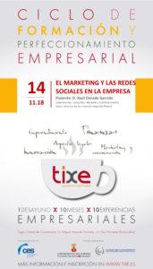 Ciclo de Formación y Perfeccionamiento Empresarial sobre El marketing y las redes sociales en la empresa