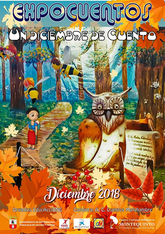 Expocuentos 'Un diciembre de cuento' por Asociación EducAcciONG