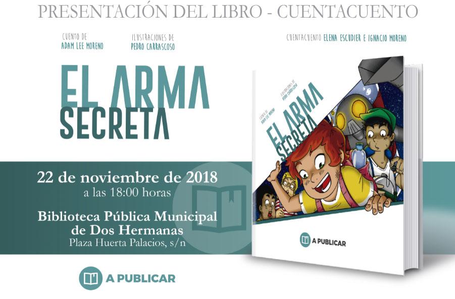"""Presentación del libro """"El arma secreta"""" en la Biblioteca Pedro Laín Entralgo"""