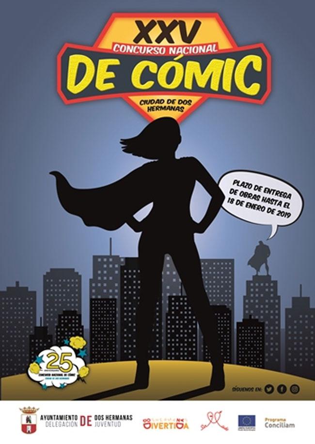 """XXV Concurso Nacional de Cómics """"Ciudad de Dos Hermanas"""" 2018"""
