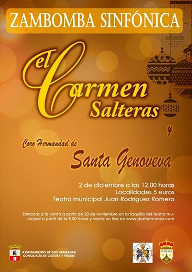 Zambomba Sinfónica el Carmen de Salteras y Coro Hdad. de Santa Genoveva 2018