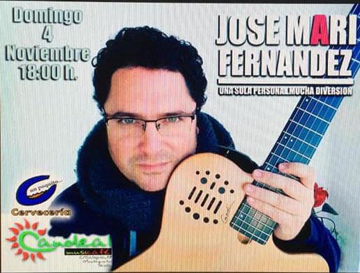 Jose Mari Fernández en Sala Candeal Musicafe Montequinto
