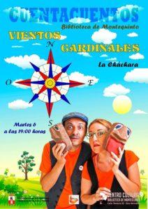 Vientos Cardinales con La Cháchara en el Centro Cultural Biblioteca de Montequinto