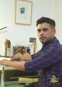 Diego Gómez Sánchez - Cartelista de la Cabalgata de Reyes 2019