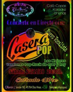 Casera Pop en Belepok Café Dos Hermanas