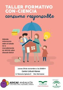 Charla-coloquio Ateneo: Consumo vivienda