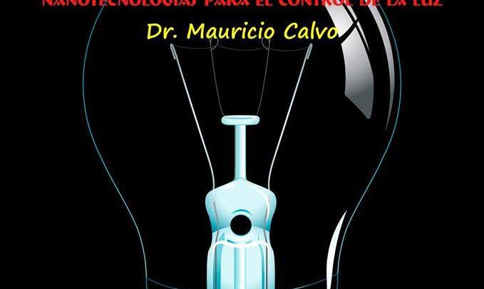 """Photo of Charla-coloquio """"Materiales fotónicos: nanotecnología para control de luz"""""""