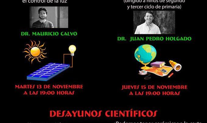 Charlas, talleres y encuentros 'Te acercamos la Ciencia' en la Biblioteca de Montequinto