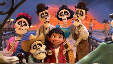 Coco película de animación proyectada en CSDC David Rivas