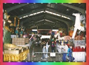 Exposición de carrozas Cabalgata de Reyes 2019