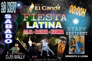 Fiesta Latina en Sala El Candil Dos Hermanas