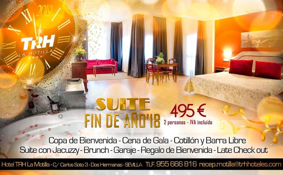 Fin de Año 2018 en Hotel TRH La Motilla