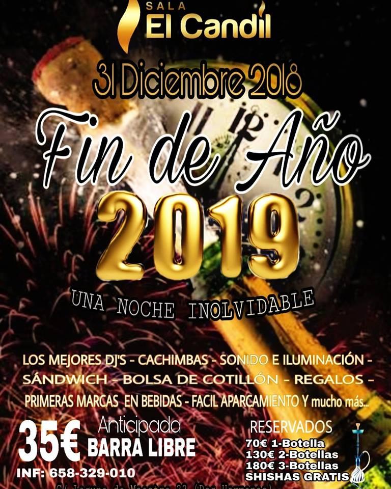Fin de Año 2018 en Sala El Candil