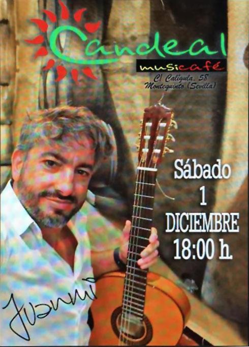 Juanmi en Candeal Musicafé