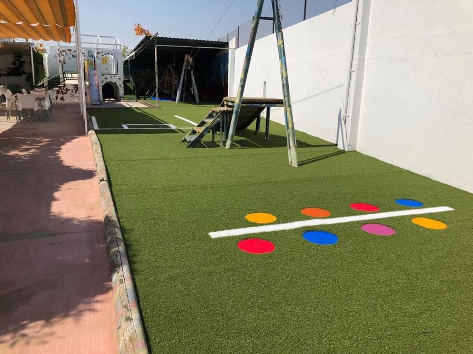 Marie Brasas & Copas - Parque infantil