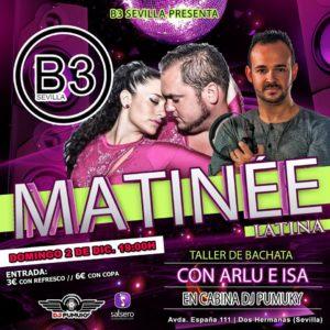 Matinée Latina en B3 Sevilla