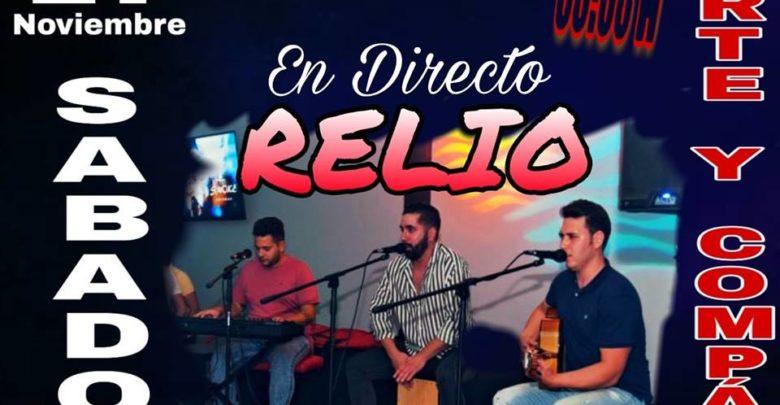 Relio en Sala El Candil con el mejor flamenquito