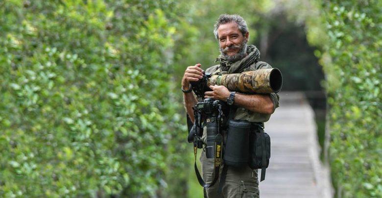 Roberto López Cruz fotógrafo especializado en la naturaleza
