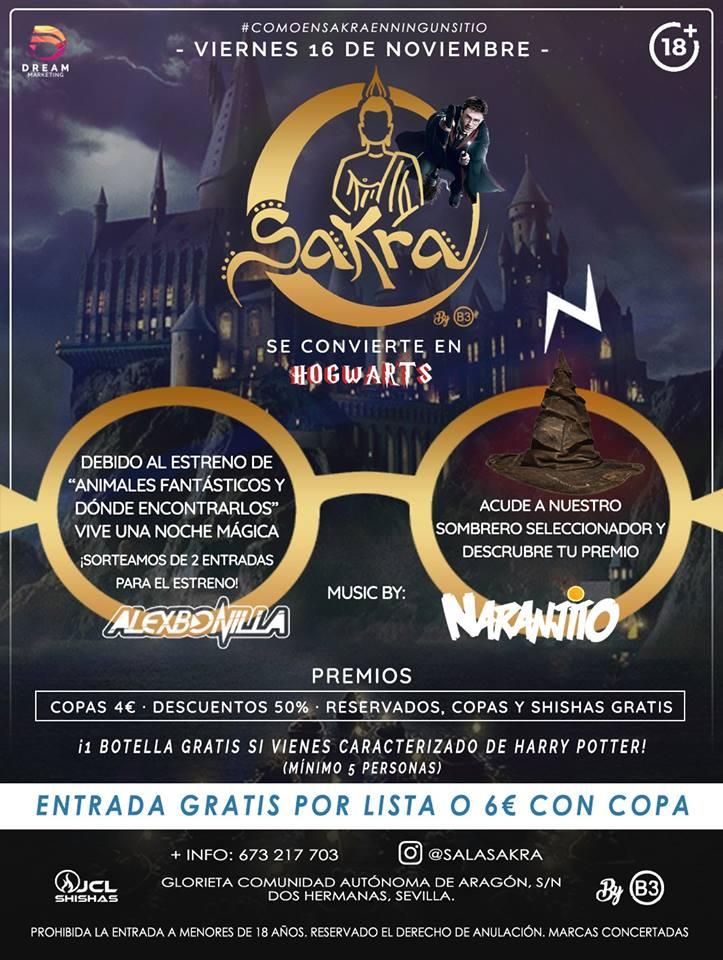 Sala Sakra se convierte en Hogwarts en Dos Hermanas