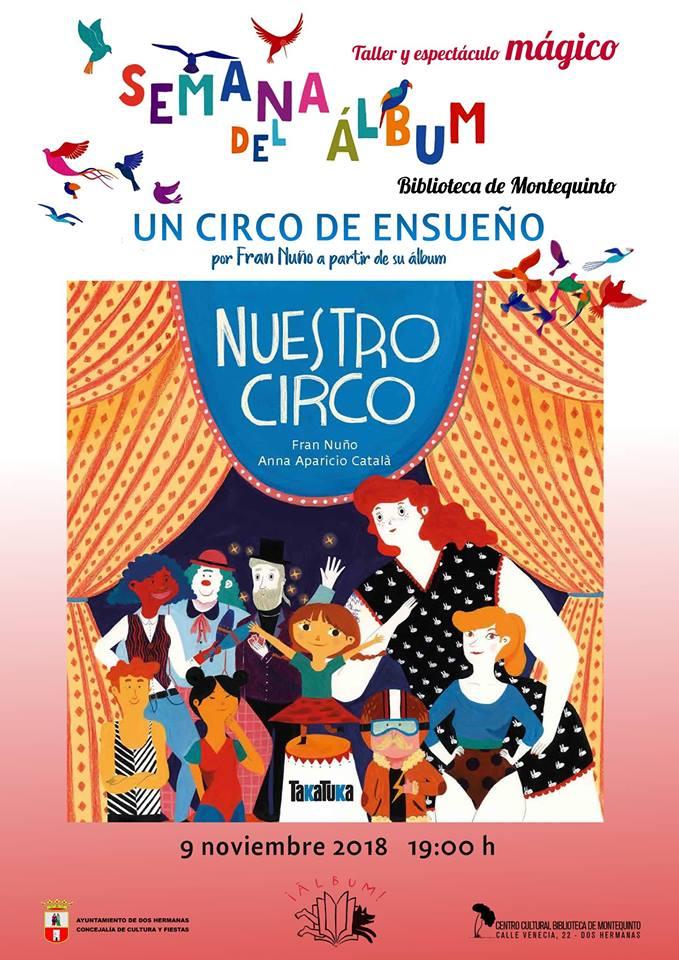 Taller y espectáculo mágico 'Un circo de ensueño'