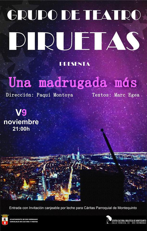 Una madrugada más del Grupo de Teatro Piruetas