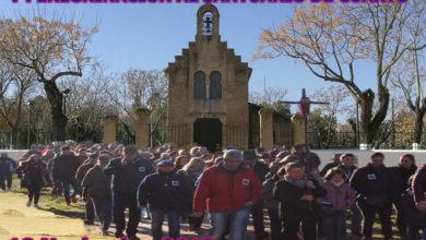 V Peregrinación andando al Real Santuario de Cuarto 2018