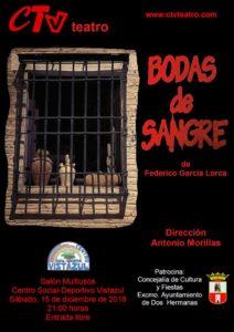 Bodas de Sangre representada por el Colectivo de Teatro Vistazul