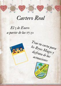 Cartero Real en David Rivas el jueves 3 de enero a las 17:30 horas