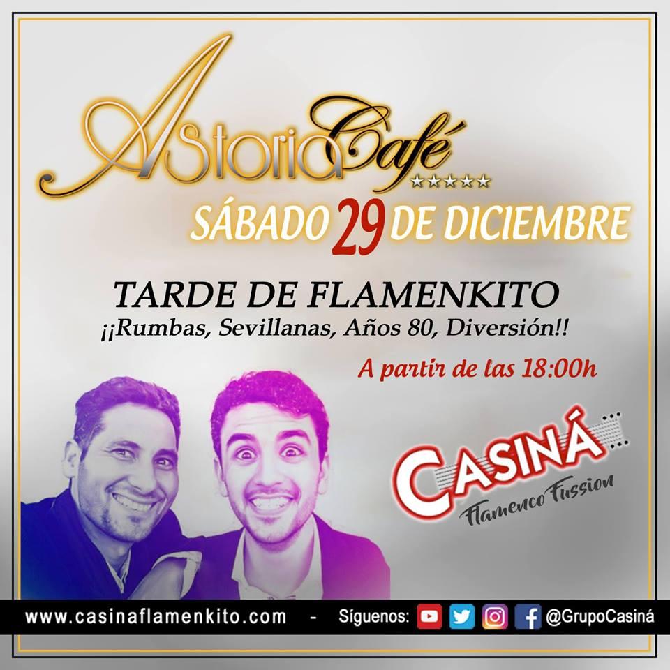 Casiná flamenquito en Astoria Café
