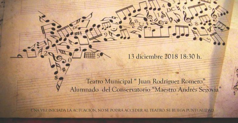 Concierto de navidad organizado por el Conservatorio de Música de Dos Hermanas