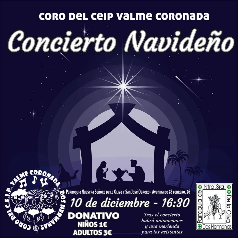 Concierto Navideño del Coro del CEIP Valme Coronada