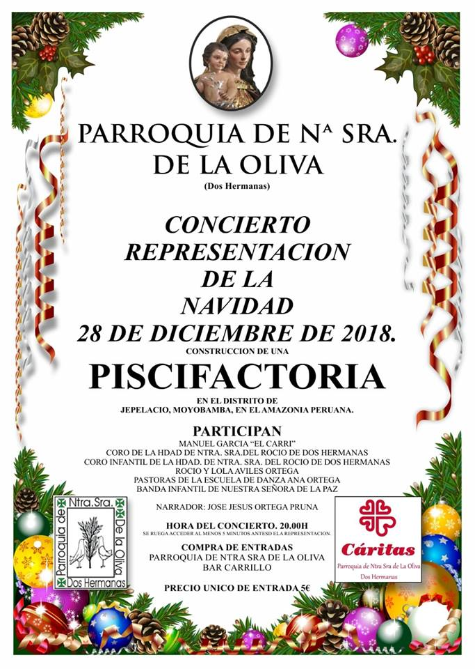 Concierto Representación de la Navidad en la Parroquia Nuestra Señora de la Oliva