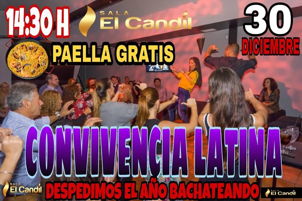 Convivencia Latina en Sala El Candil
