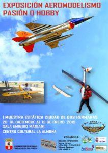 Exposición de Aeromodelismo en La Almona