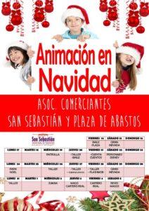 Animaciones de Navidad evento organizado por Fenaco