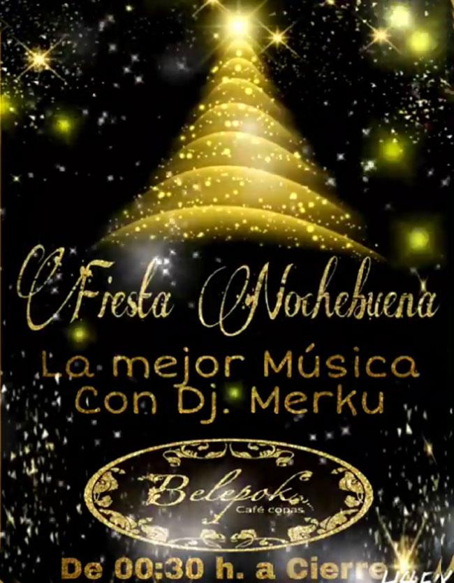 Fiesta de Nochebuena en Belepok Café 2018