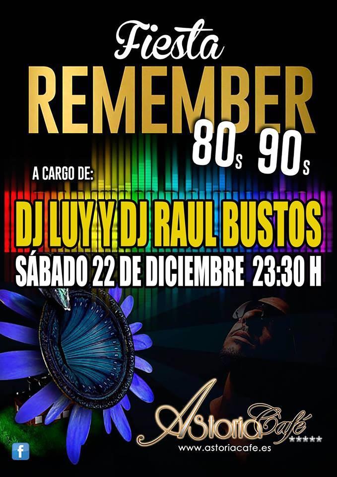 Fiesta Remember en Astoria Café