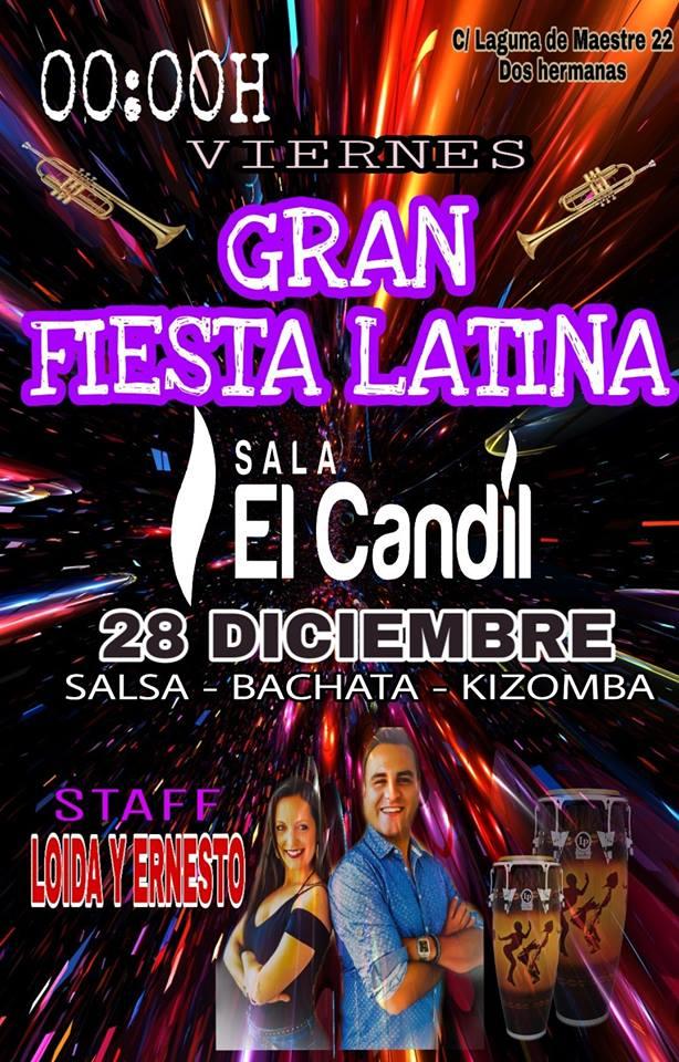 Gran Fiesta Latina en Sala El Candil