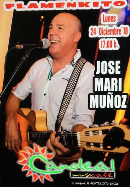Jose Mari Muñoz en Candeal Musicafé