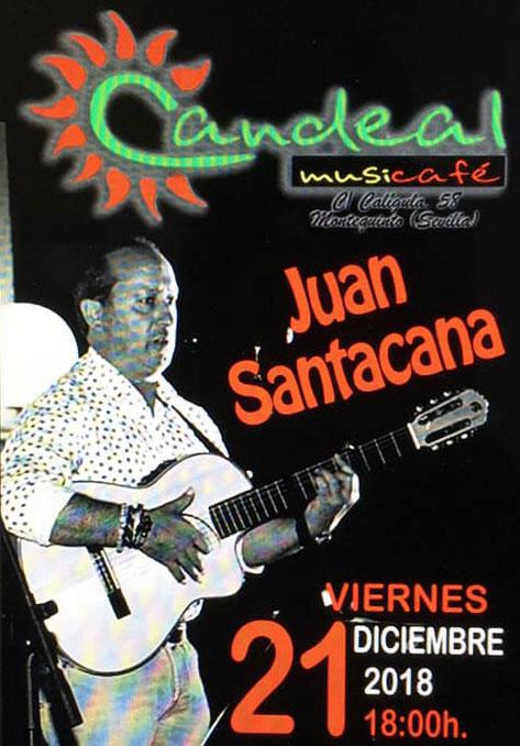 Juan Santacana en Candeal Musicafé