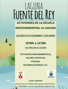 Actividades medioambientales en la Laguna Fuente del Rey